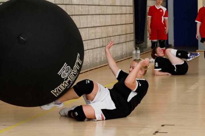 Entrainement de Kin Ball