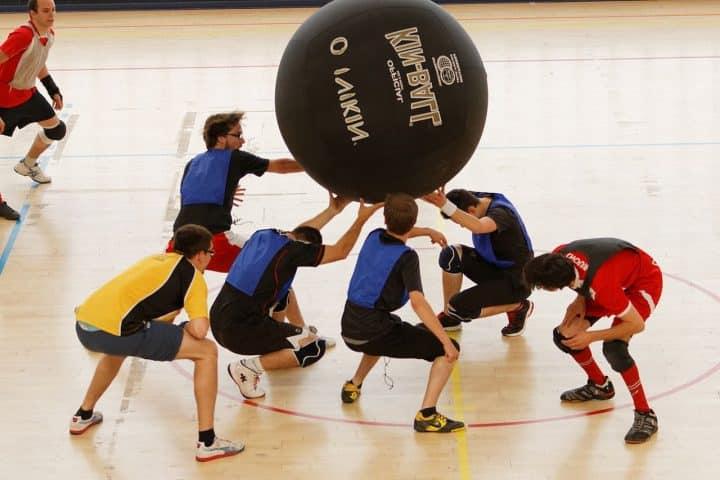 Kin ball: découverte de ce sport