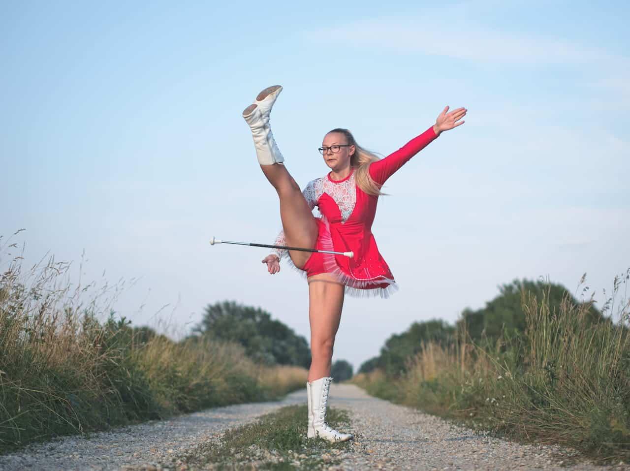 Twirling bâton : découverte de ce sport !